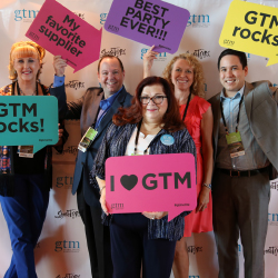 Global Travel Marketplace attendees take a break from appointments and presentations. // © 2016 Global Travel Marketplace