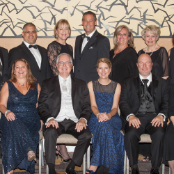 Executives and members of Ensemble's board of directors convened at the conference's black-tie gala. // © 2016 Ensemble Travel Group