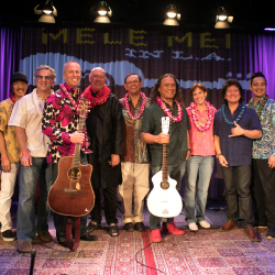 Mele Mei in L.A. attendees enjoyed performances by iconic and Grammy-nominated Hawaiian musicians. // © 2017 Outrigger Hotels and Resorts