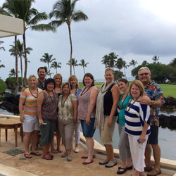 Travel agents enjoyed a variety of activities on Hawaii Island and Kauai with Norcal Hawaii Ohana. // © 2014 Norcal Hawaii Ohana