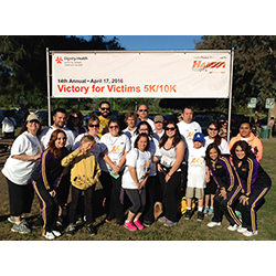 <p>Plaza Travel employees, friends and family participated in the 14th annual Victory for Victims 5K Walk/Run. // © 2016 Plaza Travel</p><div></div>