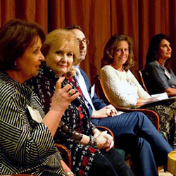 <p>Featured guest speakers emphasized growing the agency business and networking. // © 2015 SoCal American Society of Travel Agents</p><div></div>