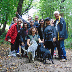 Agents went on a truffle safari with truffle-sniffing dogs during their fam trip to Croatia. // © 2015 Mediterra DMC