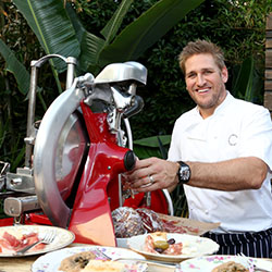 <p>Celebrity chef Curtis Stone announced his partnership with Princess Cruises in downtown Los Angeles. // © 2015 Casey Rodgers/Invision for Princess...