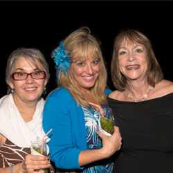 Bonnie Lee (Travel Leaders, Albertville, MN), Michelle Weller (Travel Leaders, Houston, TX) and Sondra Wilson (Travel Leaders, Richland, WA) celebrate...