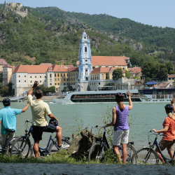 <p>AmaWaterways appeals to active cruisers by offering a fleet of bikes to passengers. // © 2016 AmaWaterways</p><p>Feature image (above): River...