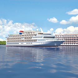 <p>In addition to the 170-passenger American Constellation, which will launch in 2017, two new ships have been announced. // © 2016 American Cruise...