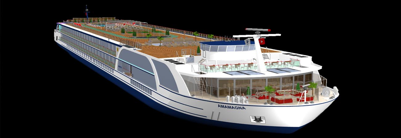 AmaWaterways Announces Largest River Ship in Europe