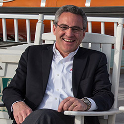 <p>Ted Sykes, president and chief operating officer of American Queen Steamboat Company // © 2016 American Queen Steamboat Company</p><p>Feature image...