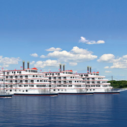 A rendering of American Cruise Lines newbuild order // © 2014 American Cruise Lines