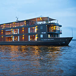 <p>Aqua Expeditions' third ship will have a design that resembles Aqua Mekong, which entered the market in 2014. // © 2016 Aqua...