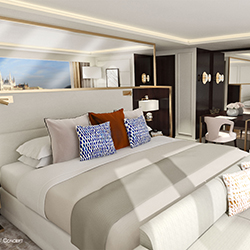 <p>Crystal Cruises is considering how it might mix river and ocean cruising but is currently focusing on releasing several new luxury products. // ©...