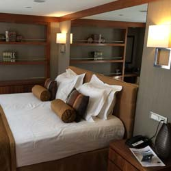 <p>Staterooms on AmaWaterways' AmaVida are elegant and comfortable. // © 2017 Kenneth Shapiro</p><p>Feature image (above): Most of the excursions on...