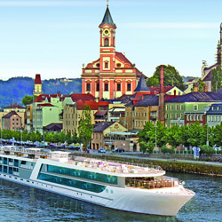 Emerald Sky will debut in April and sail from Basel to Amsterdam. // © 2014 Emerald Waterways