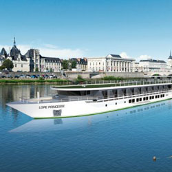<p><span>CroisiEurope's new 96-passenger Loire Princesse will begin sailing on the Loire River next year. // © 2014...