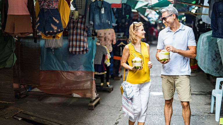 AmaWaterways passengers can visit local markets.