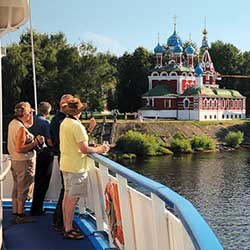 <p>Clients who enjoy full days of exploration and traveling with a group are perfect candidates for river cruising. // © 2016 Viking River...