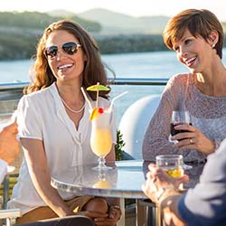 <p>The average age of river cruisers continues to decrease. // © 2014 Avalon Waterways</p><p>Feature image (above): A-Rosa's river cruises are well...