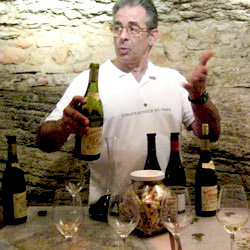<p>Cruising in France with Tauck might include a wine tasting stop at Chateauneuf-du-Pape in southernmost France. // © 2014 Tauck</p><p>Feature image...