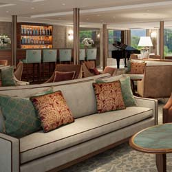 <p>Ships feature elegant decor, a sauna, a fitness suite and more. // © 2017 Riviera Travel</p><p>Feature image (above): Lord Byron is one of Riviera...