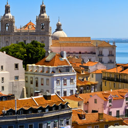<p>Select Viking Cruises itineraries on the Duoro River include time in Lisbon, Portugal. // © 2015 Thinkstock</p><p>Feature image (above): Spring is...