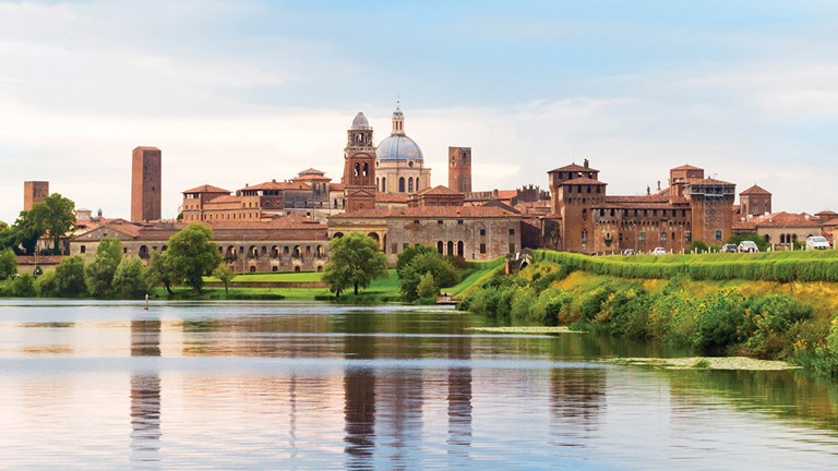 Mantua, Italy, holds many architectural marvels.