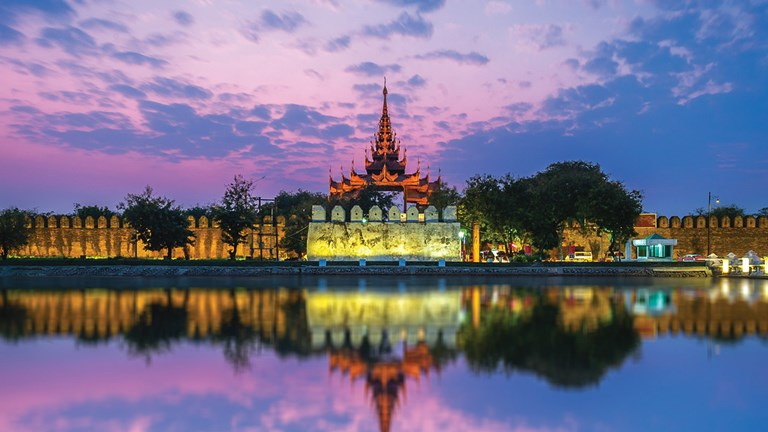 Mandalay, Myanmar, showcases the best of the traditional and the modern.