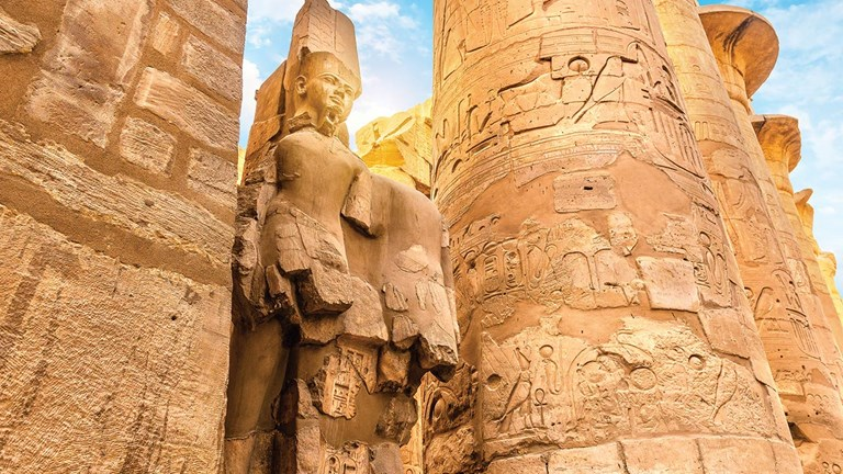 Egypt's Karnak Temple Complex is a must-see on a Nile River itinerary.