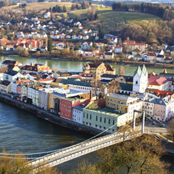 "<p>Also known as ""The City of Three Rivers,"" Passau, Germany, is among river cruise ports gaining in popularity. // © 2015 Thinkstock</p><p>Feature..."