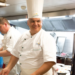 <p>Chef Alain Bohn leads a culinary team of more than one hundred employees for CroisiEurope. // © 2014 CroisiEurope</p><p>Feature image (above):...