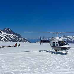 <p>Clients who book Un-Cruise Adventures' Knick River Adventure package will have the option to take a helicopter tour.  // © 2016 Knick River...