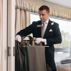 <p>Uniworld's butlers aim to anticipate the needs of their guests. // © 2016 Uniworld Boutique River Cruise Collection</p><p>Feature image (above):...
