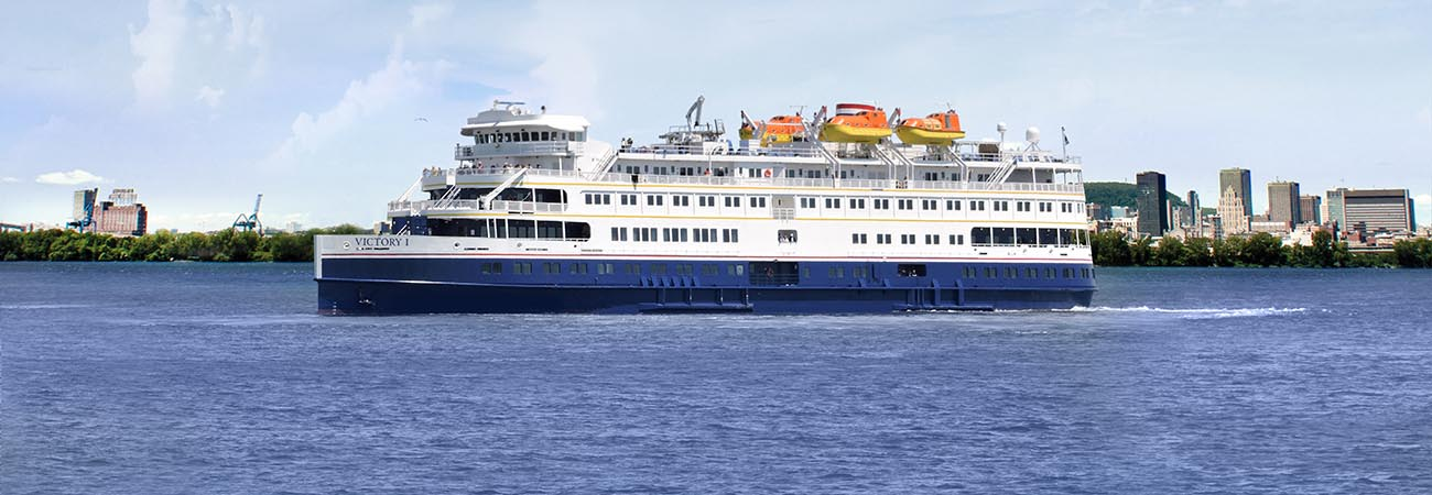 Victory Cruise Lines Debuts With Victory 1 Ship