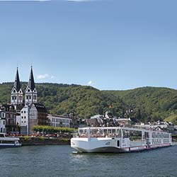 <p>Viking River Cruises' new ships are designed as expansions on the Longship used in Europe. // © 2016 Viking River Cruises</p><p>Feature image...