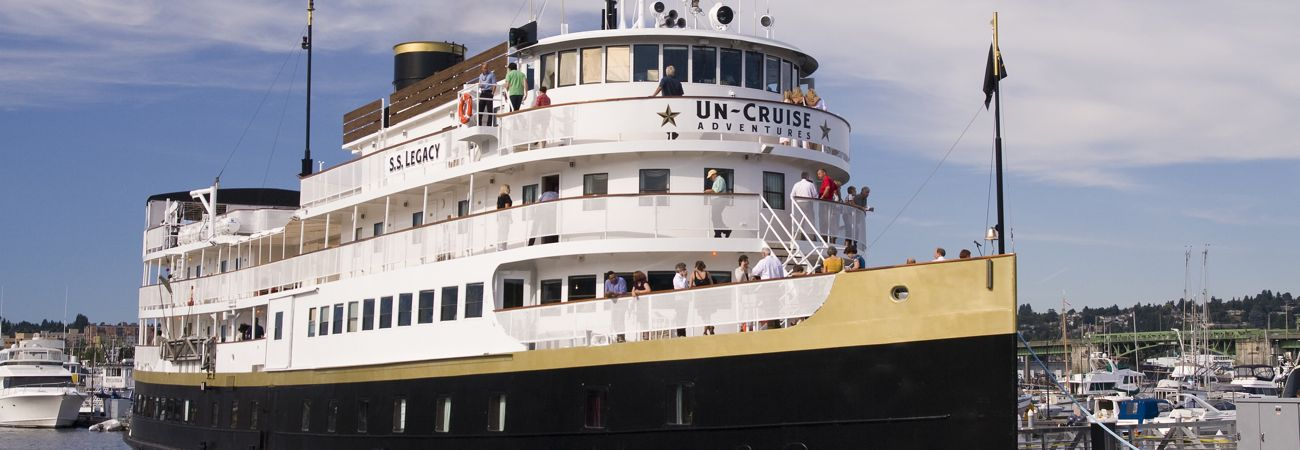 Un-Cruise Christens Legacy