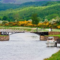 The waterways of Scotland are on the destination list for A&K's new river cruising brochure. // © Shutterstock