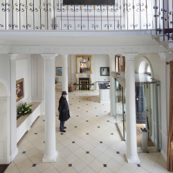 <p>President Obama learned Gaelic at The Merrion // © 2015 Merrion Hotel</p><p>Feature image (above): Luttrellstown Castle, where Taylor Swift stayed...