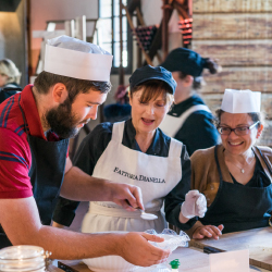 <p>Clients can take part in a cooking class in the Tuscan countryside. // © 2016 Insight Vacations</p><p>Feature image (above): Luxury Gold by Insight...