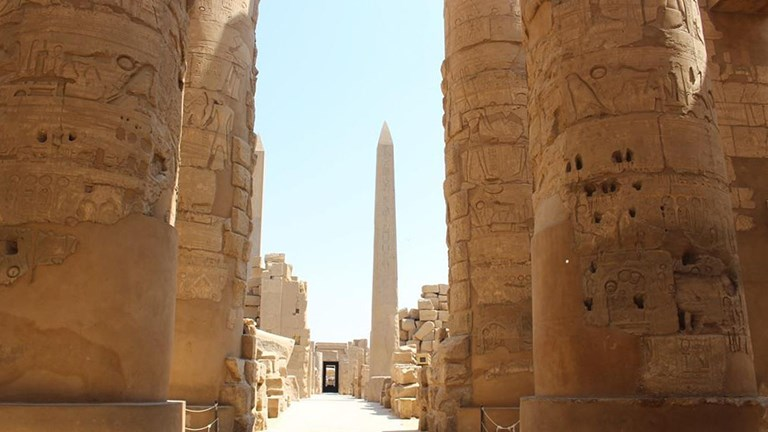 Egypt has thousands of years of history.