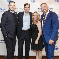<p>Insight Vacations executives, including president Phil Cappelli (far right), at the Travel Agent Ambassadors Council gathering in New York // ©...