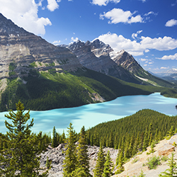 <p>See the Canadian Rockies by helicopter with Rocky Mountaineer. // © 2015 IStock</p><p>Feature image (above): Rocky Mountaineer has introduced new...