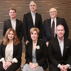 <p>The 2016 USTOA Executive Committee from bottom left to top left: Dana Santucci, Paula Twidale, Terry Dale, Harry Dalgaard, Charlie Ball and Jerre...