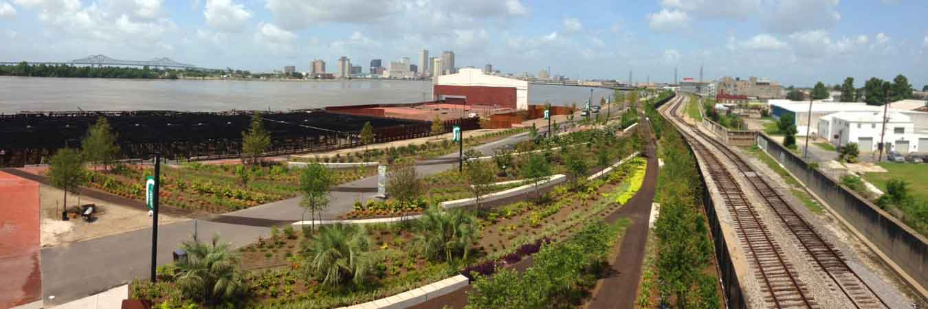Crescent Park Opens In New Orleans Travelage West