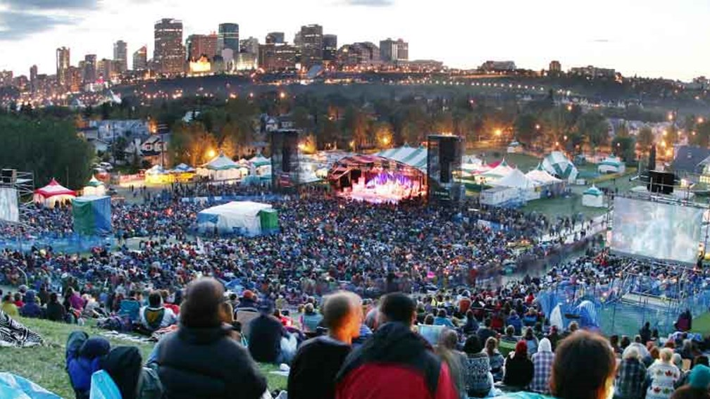 The Edmonton Folk Music Festival is held annually in Gallagher Park. // © 2014 Edmonton Economic Development Corporation 2