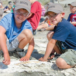 <p>Fossil digs are an Alberta highlight and are offered at multiple museums. // © 2015 Telus Spark</p><p>Feature image (above): Royal Tyrrell Museum...