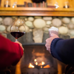 <p>The menu at Sleeping Buffalo restaurant at Buffalo Mountain Lodge is complemented by a stellar wine list. // © 2015 Banff Lake Louise Tourism/Paul...