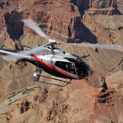 <p>Tour the canyon from above with Maverick Helicopters // © 2016 Maverick Helicopters</p><p>Feature image (above): The Grand Canyon is quite...