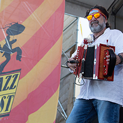 <p>New Orleans Jazz & Heritage Festival features music, crafts and food. // © 2016 New Orleans Jazz & Heritage Festival</p><p>Feature image...