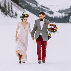 Mountain weddings tend to be smaller, and festivities may run throughout the week. // © 2017 Darren Roberts