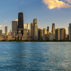 <p>Many cruises in the Great Lakes depart from Chicago. // © 2017 Getty Images</p><p>Feature image (above): The Great Lakes feature 9,000 miles of...